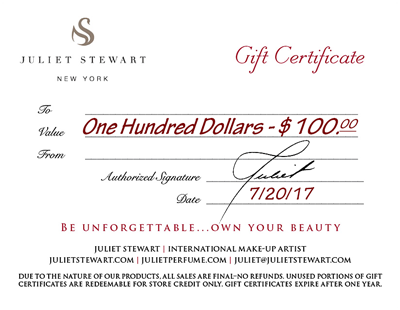 making your own gift certificates
